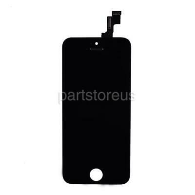 Black Front Glass LCD Display Touch Screen Digitizer Replace For iPhone 5S SE