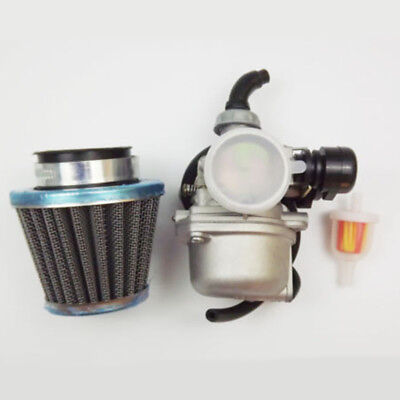 For PZ19 50CC/90CC/110CC Lever Carburetor Air Filter ATV Go-Kart Carb SUNL