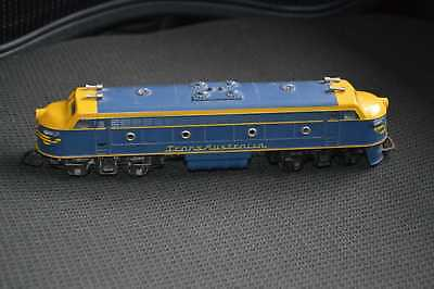 Vintage Triang Double Ended TransAustralia Diesel Loco.