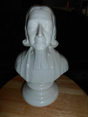 Belleek (2003) John Wesley tercentenary of birth limited edition (archival) bust