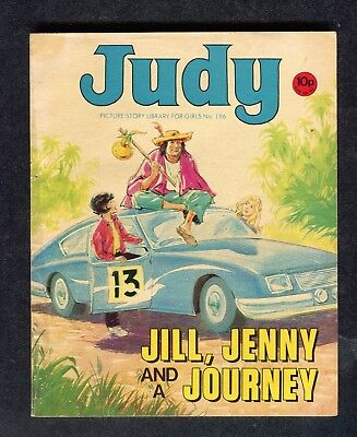 1979: Judy Picture Story No 196: Jill, Jenny and a Journey: Jamie Wilde
