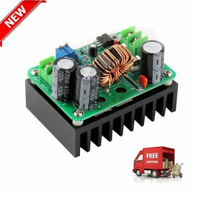 HOT DC-DC 600W 10-60V to 12-80V Boost Converter Step-up Module Power Supply OHH