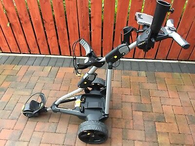 PowaKaddy FW7s Electric Trolley (18 HOLE LITHIUM BATTERY) Immaculate Condition!