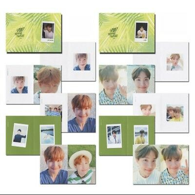 BTS Summer Package Personal Selfie Photo Book JIMIN SUGA J-HOPE Poster Picture