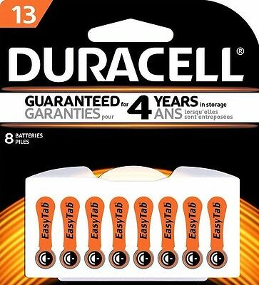 Duracell 13 Hearing Aid Battery Easy Tab (16 Batteries)EXP. 2018  ITEM IN CANADA