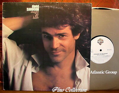 "DAVID SANBORN - Straight To The Heart 1984 VINILE vinyl LP 12"" 33g LONG PLAYING"