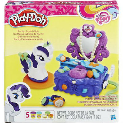 Play-Doh My Little Pony Raity Style & Spin from Hasbro B3400