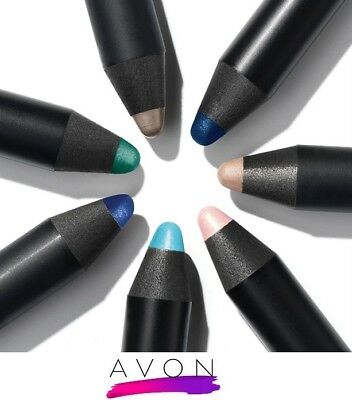[AVON] Mark  Big Colour Eye Pencil crayons for liner and shadow Waterproof