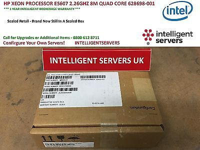 Hp Xeon Processor E5607 2.26Ghz 8M Quad Core 628698-001