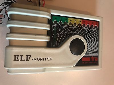ELF monitor TRA extremely low frequency electromagnetic radiation monitor WORKS