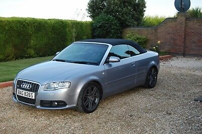 Audi A4 TDI 2.0L S Line Convertible Cabriolet 2009 Diesel Special Edition