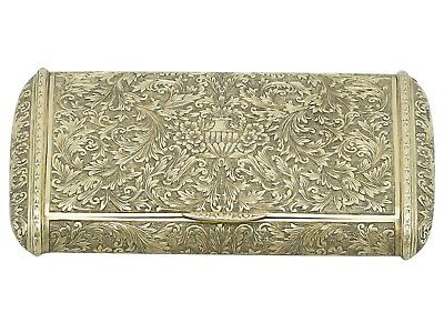 Antique Italian 18 ct Gold Snuff Box Circa 1900