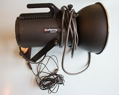 Pre-owned Courtenay 1000 Solaflash Professional Studio Flash Head