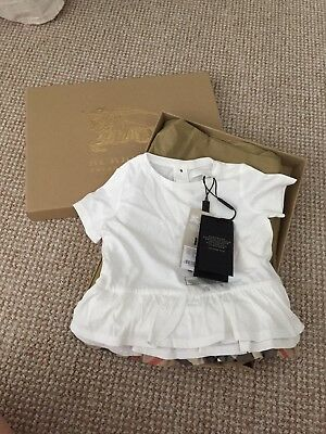Girls Burberry Top 18 Months