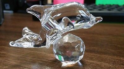 Crystal Glass Dolphin