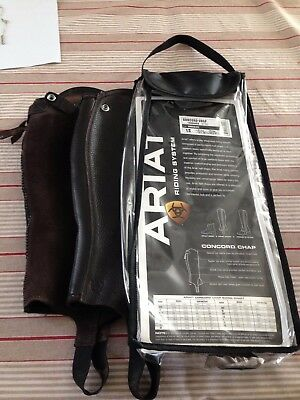 Ariat Concord Leather Chap In Chocolate Size Ls