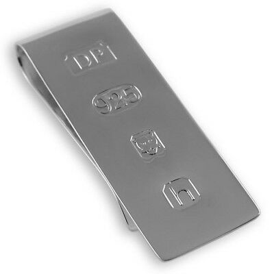 NEW - Sterling Silver MONEY CLIP - James Bond Edition - Boxed
