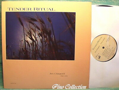 JIM CHAPPELL Tender Ritual PIANO SOLOS 1987 vinyl vinile LP MINT LONG PLAYING
