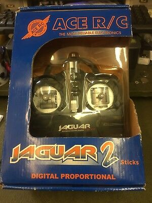 Thunder Tiger Ace RC Jaguar 2 Remote Control