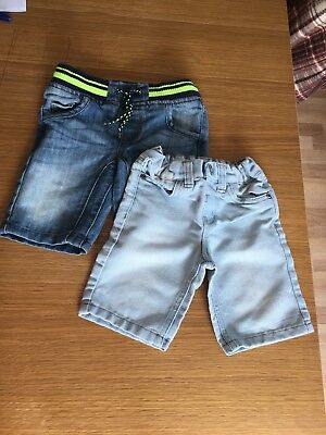 Primark Boy's Aged 2-3 Years Shorts ( 2 Pairs )