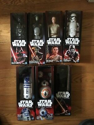13 NEW Disney Star Wars The Force Awakens And Rogue 1 Figures