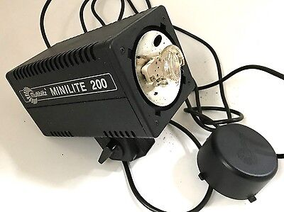 Multiblitz Mini Lite 200 Studio Flash Head