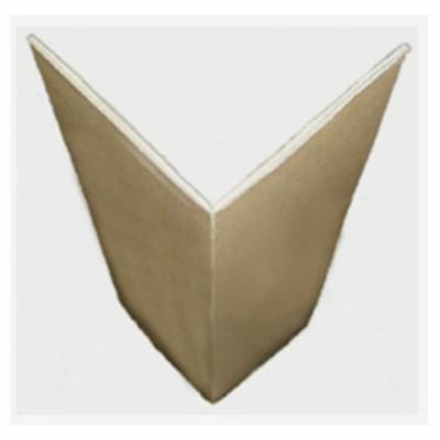 ( eur. 0,44 / m-eur 1,25/M) Edge Protector Corrugated Board 120x120mm 2wlg