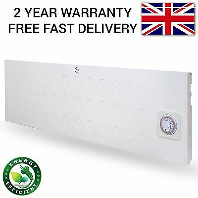 1500W Eco Electric Convector Panel Heater Slim Line Wall Mountable Radiator