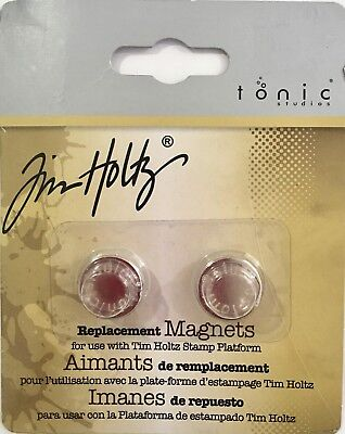 Tim Holtz Replacement Magnets For Use With Tim Holtz Stamp Platform