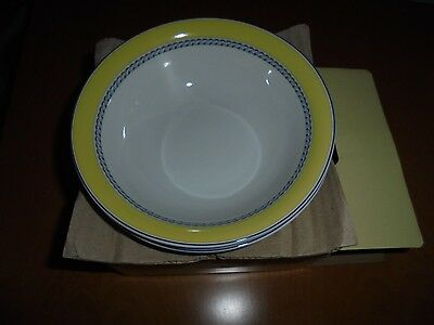 New In Box 2   Royal Doulton Blueberry Cereal Bowls