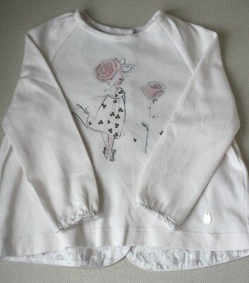 Baby Dior Pink Cotton Top 6 Months