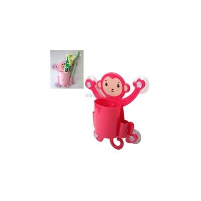 Porta Spazzolino a Forma di Scimmia Rossa Red Big Belly Naughty Monkey