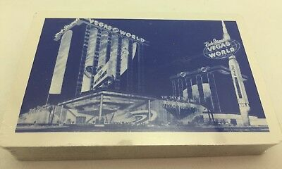Vintage Las Vegas Hotel Playing Cards - Sealed - Vegas World And Tropicana
