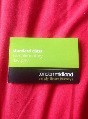 London Midland Train Unlimited Travel Day Pass Ticket