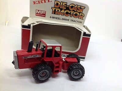 ERTL USA No1727 4 Wh.Drive MF Tractor 1.64 Scale Near Mint with Box.