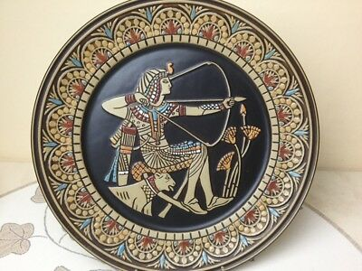 Denbyware Limited Edition Egyptian Collection Plate Tutankhamen 111 (3)