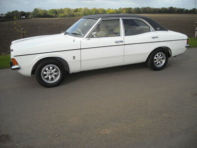 Ford Cortina Mk3 2000E 1976 35038 Miles From New In Concourse Condition