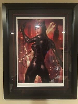 Catwoman Premium Art Print By Sideshow Collectibles - Framed Variant - SDCC