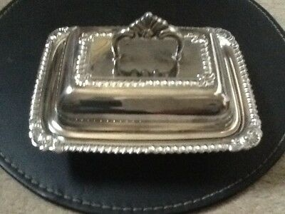 I A Silver Plated   modern  butter/ Marmalade or jam dish