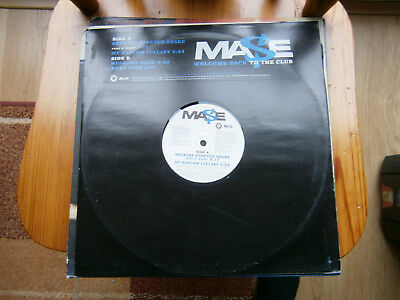 "MASE Welcome Back to the Club 12"" promo vinyl-12"
