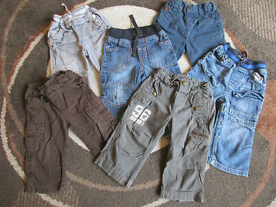 Baby Boy Bundle Trousers x 6 Size 12-18 months