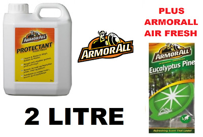 Armorall 2 Litre Gloss Finish Dashboard & Trim Cleaner Protectant & 1 Air Fresh