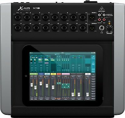 Used Behringer X Air X18 Digital Mixer For iPad & Android Tablets