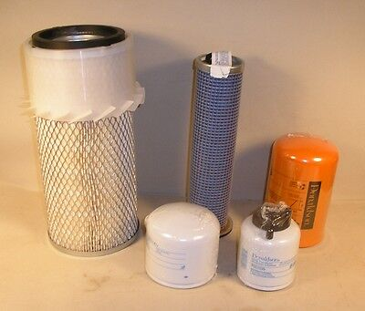 Bobcat Filter Kit 753 763 763 773 Skid Steer Oil Fuel 2 Air - TOP QUALITY!