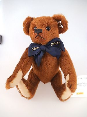 Steiff Teddy 1907 - 2007 A Million Hugs braun 038785 limitierte Auflage (601c)