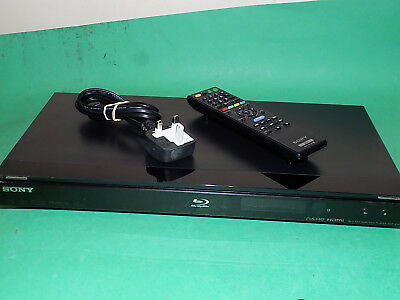 SONY BLU-RAY Disc Player BDP-S360 Black Working Includes Remote