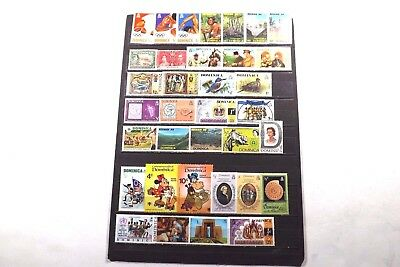 66 Dominica Stamps
