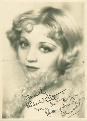 Alice White - Inscribed Photograph Signed