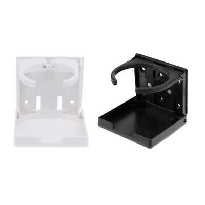 2 Pack Folding Vertical Mount Marine Boat Yacht Car Truck Drink Cup Holder