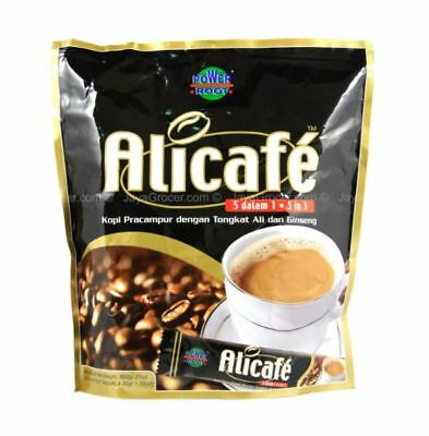 2017 Alicafe Tongkat Ali Ginseng Pekat Concentrated Coffee Mix 5 in 1,15 x 40g